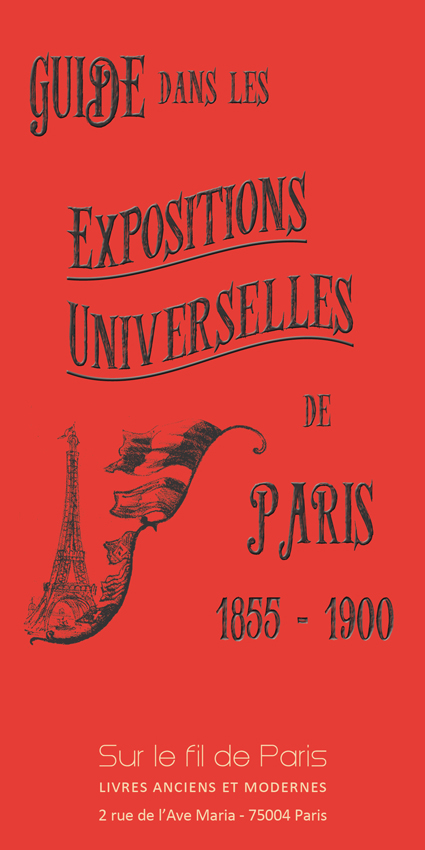 catalogue, exposition universelle, paris, livres anciens, documents, editions originales, plans, tour eiffel, trocadero, champ de mars