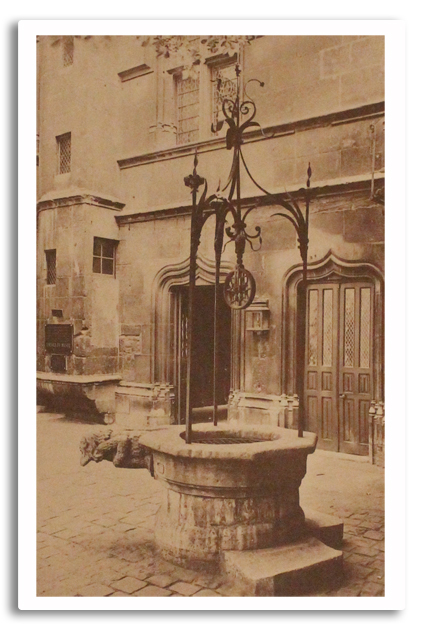montorgueil, eaux, fontaines, paris, payot, 1928, edition originale, livre ancien, photos, aqueduc