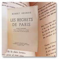 Desnos Les regrets de Paris