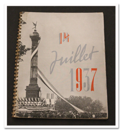paris, histoire, exposition universelle, 1937, fete nationale, photographies, exposition internationale, livre de photographies, rarebook