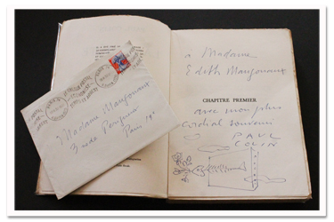 paul colin, la croute, table ronde, 1957, edition originale, envoi autographe, dedicace, souvenirs
